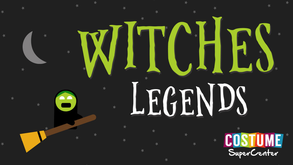 Witches Legends Infographic