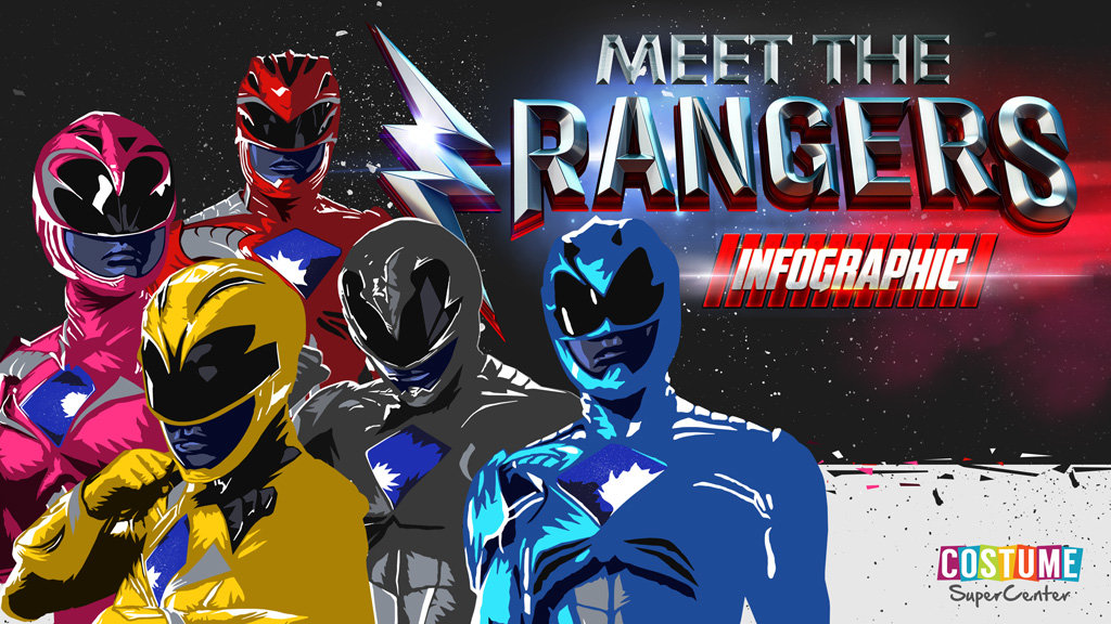 Power Rangers Infographic