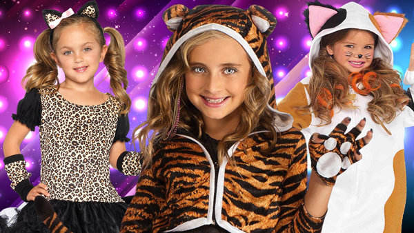 Kids Cat Costumes