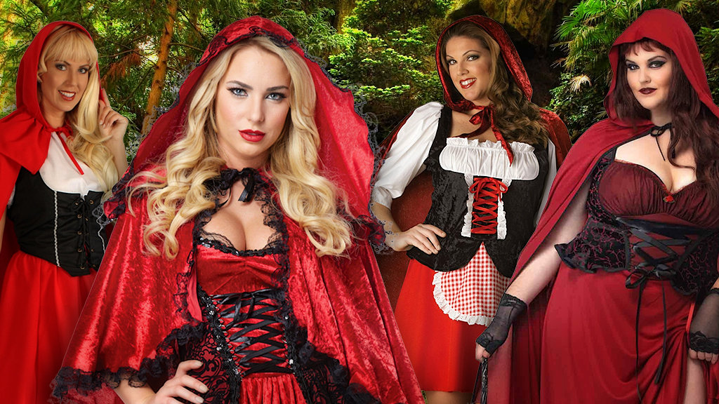 Women's Little Red Riding Hood Costumes