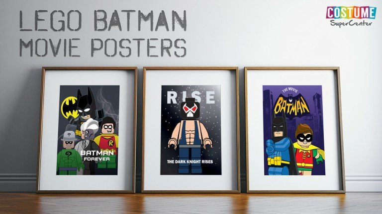 LEGO Batman Movie Posters