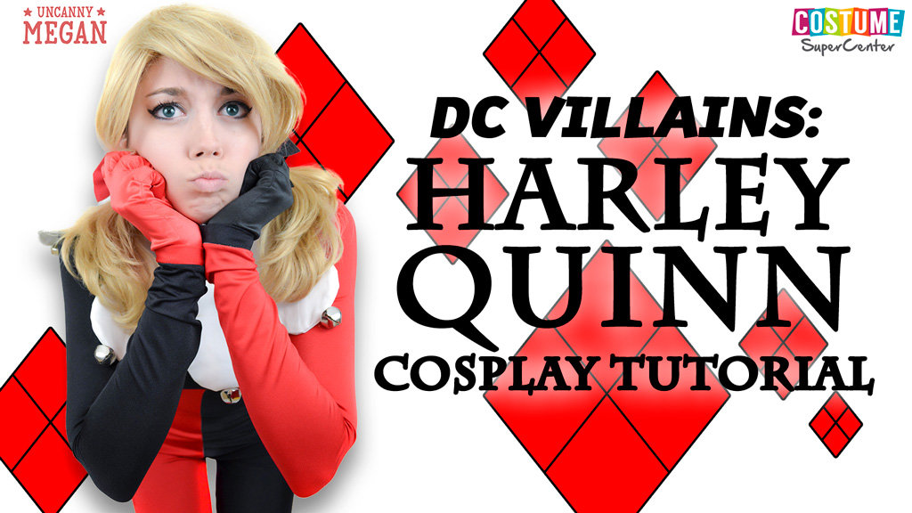 DIY Harley Quinn Cosplay Tutorial