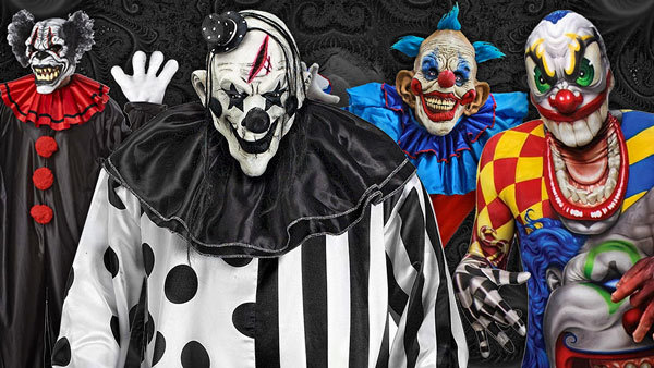 Scary Clowns Costumes
