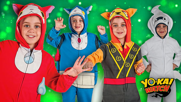 Yo Kai Watch Costumes