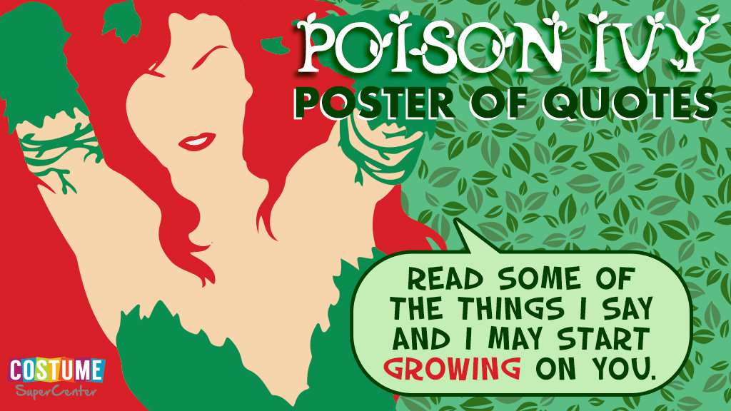 Poison Ivy - Poster of Quotes