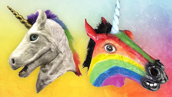Unicorn Masks