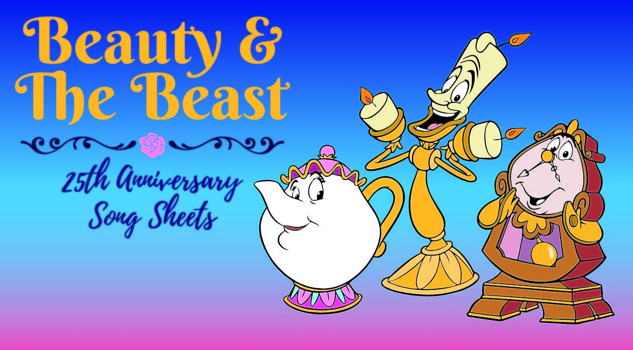 Beauty and the Beast Songsheets