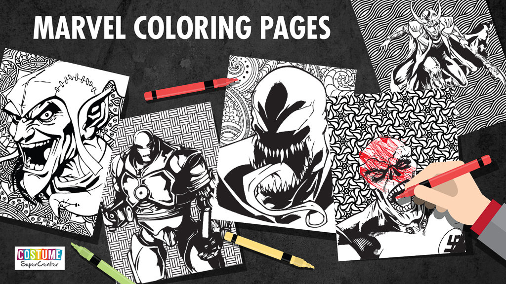 Marvel Villain Coloring Pages