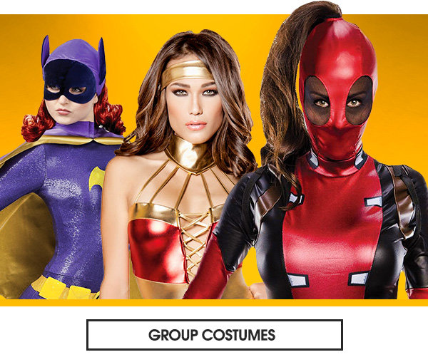 Womens group costumes