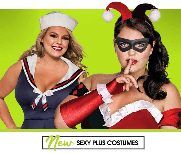 New Sexy plus costumes