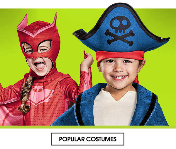 Popular toddler costumes
