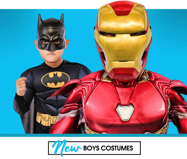 New boys costumes