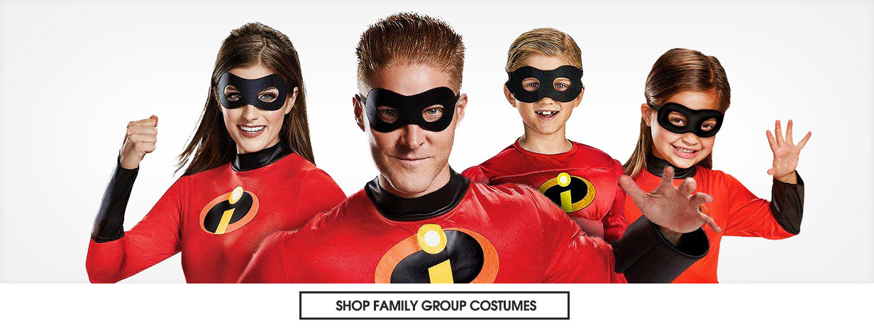 Family group costumes