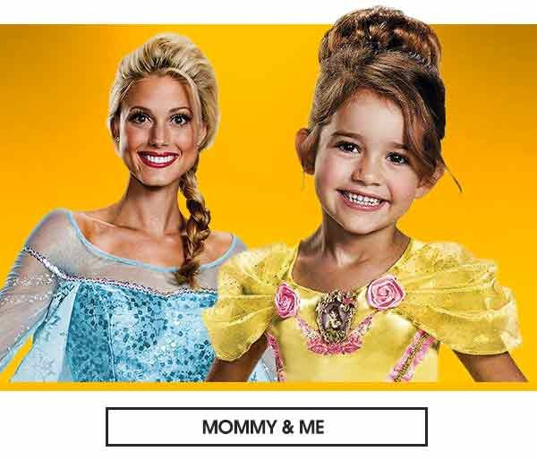 Girls mommy and me costumes