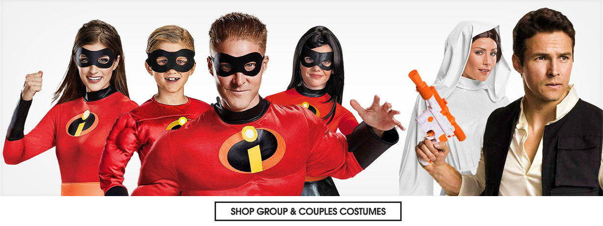 Adult Group and couples costumes