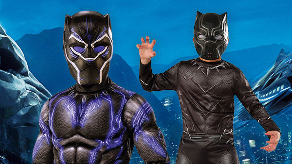 Kids Black panther costumes