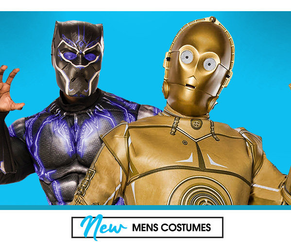 New Mens costumes