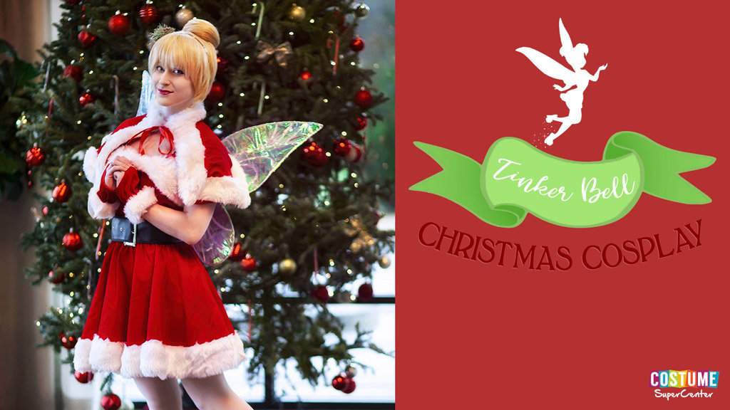 Christmas Tinker Bell Cosplay