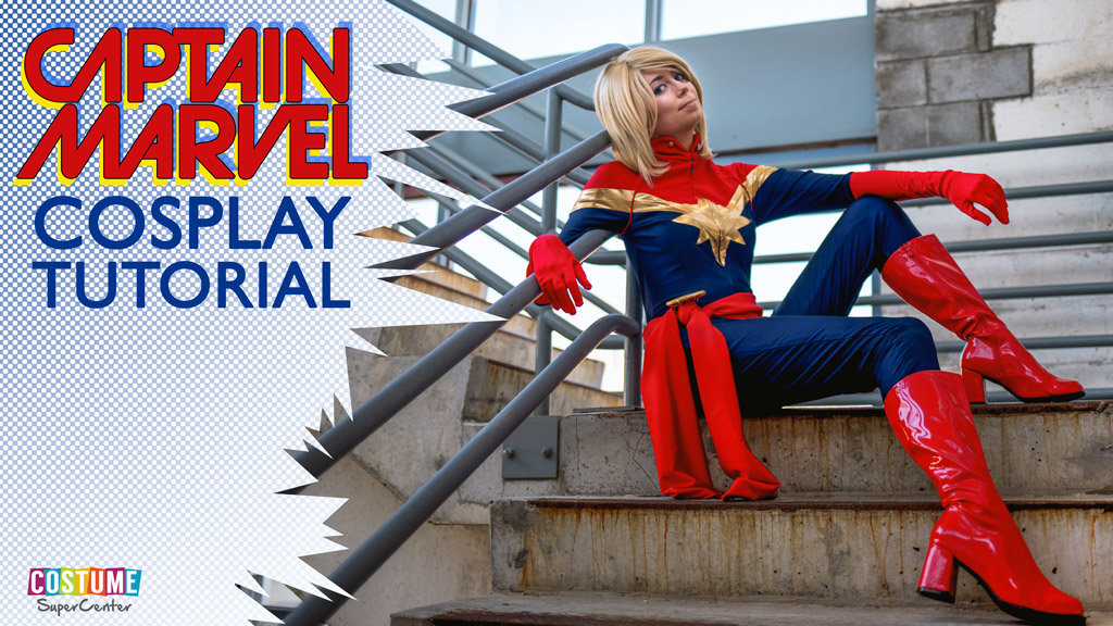 Captain Marvel Cosplay Tutorial