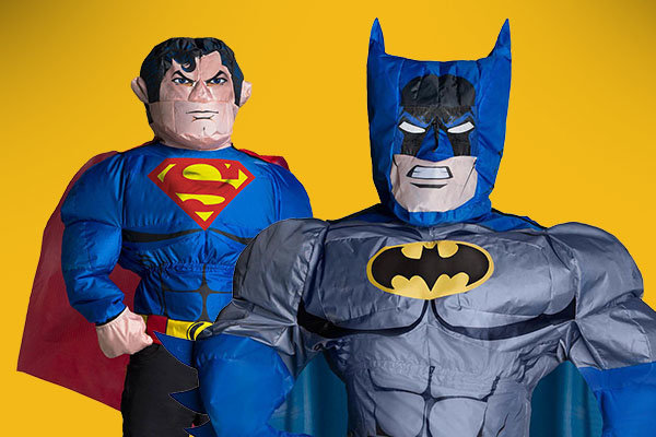 Inflatable Superheroes