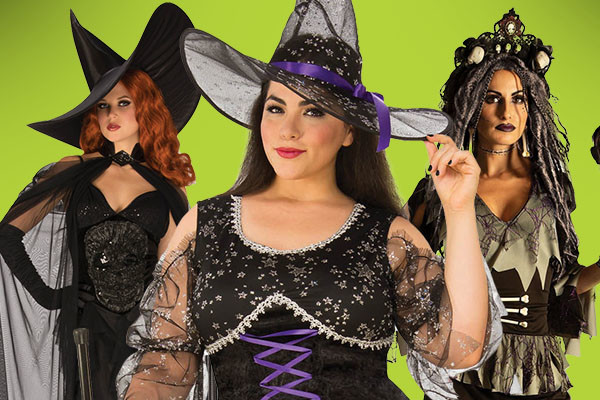 Womens Witch Costumes