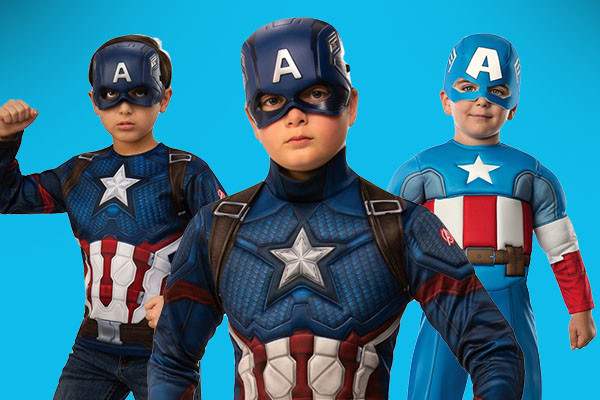 Captain America Boys Costumes