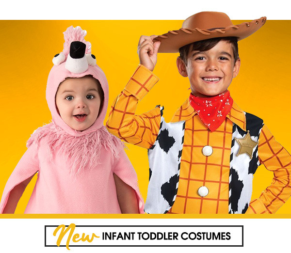 New infant toddler costumes