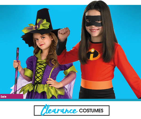 Girls clearance costumes