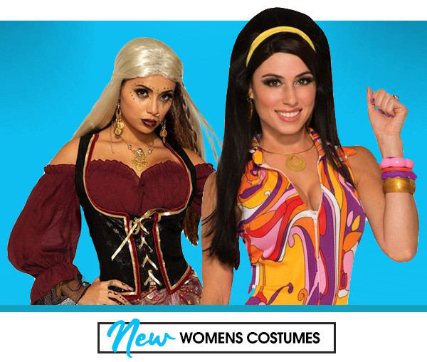 New Womens Costumes