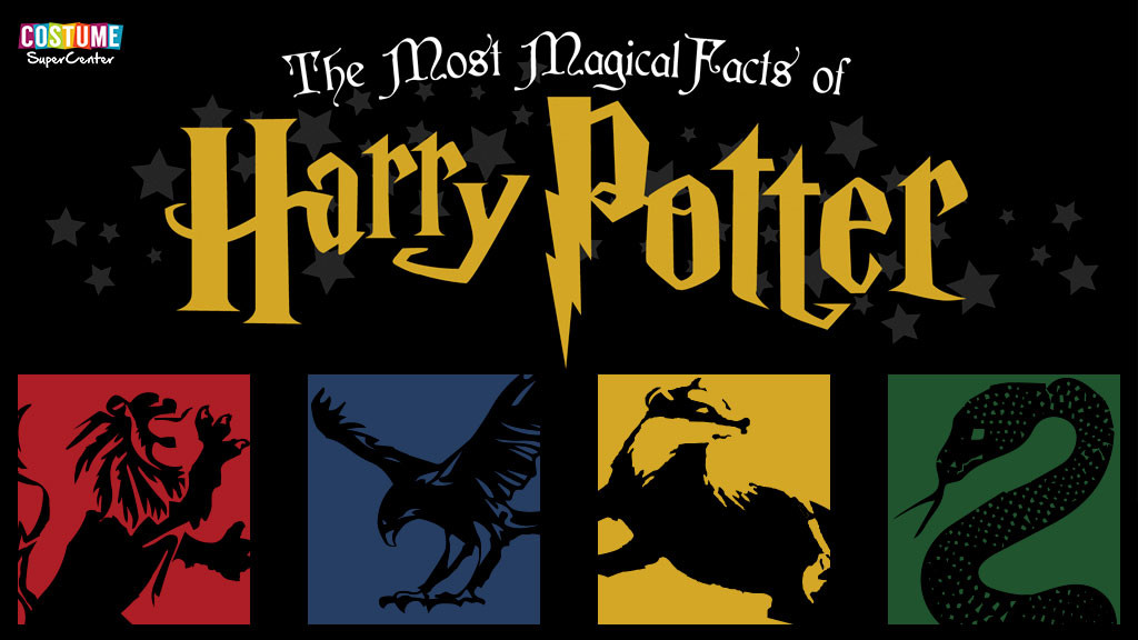 Harry Potter Facts Infographic