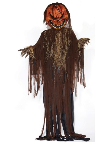 Scary Pumpkin Scarecrow