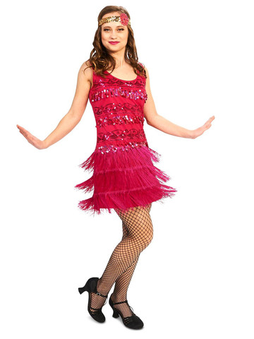 Adult 20's Vintage Inspired Flapper Costume