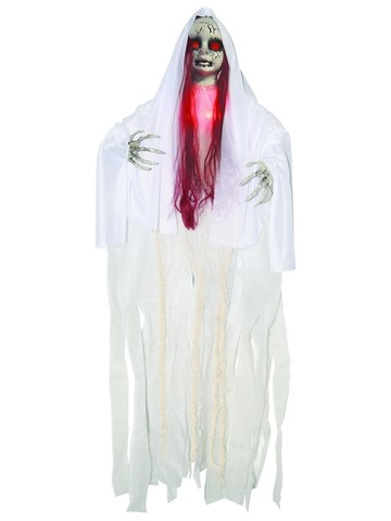 Haunted Light Up Red Doll - 3'