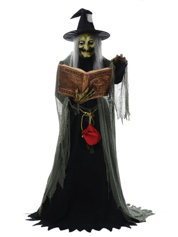 Spell Speaking Animated Witch