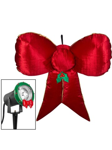 Inflatable Airblown Velvet Hanging Bow - 5'