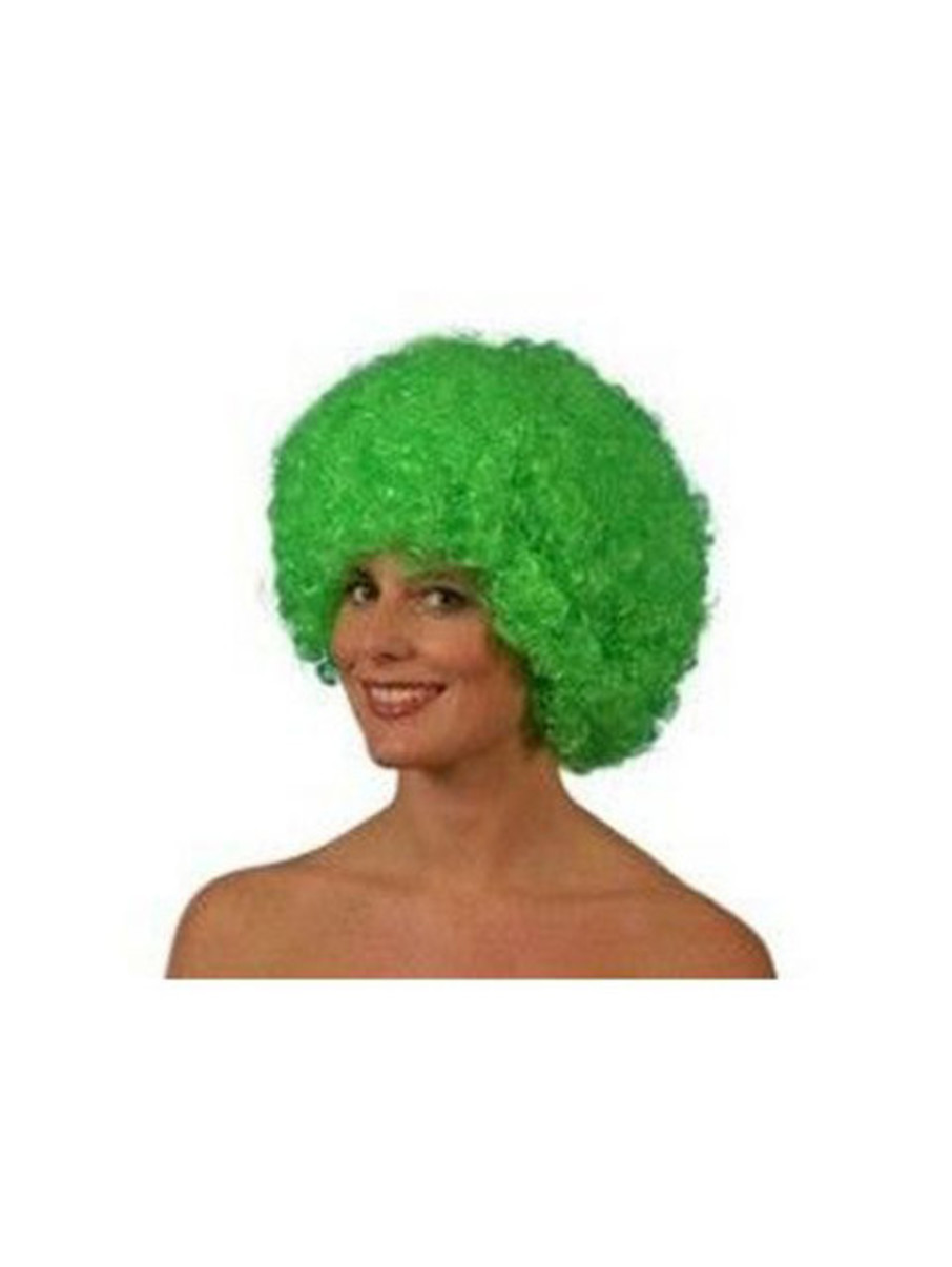 View larger image of Green Afro Wig