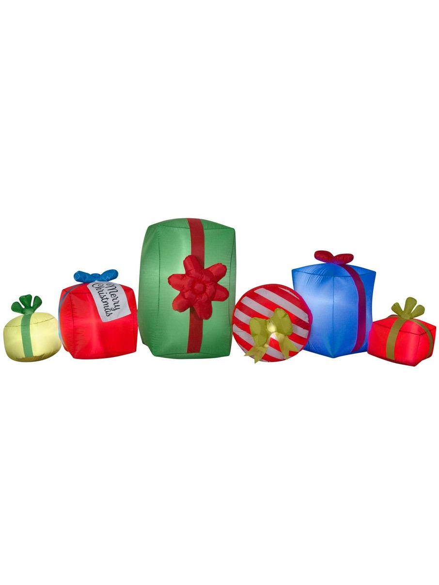 View larger image of Inflatable Airblown Gifts and Presents Prop - 9'