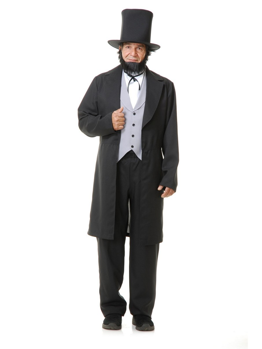 View larger image of Men's Abe Lincoln with Hat Costume