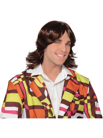 Adult Dude 70s Wig