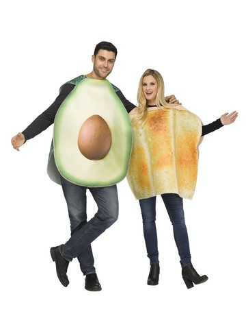 Toast & Avocado Costume for Adults