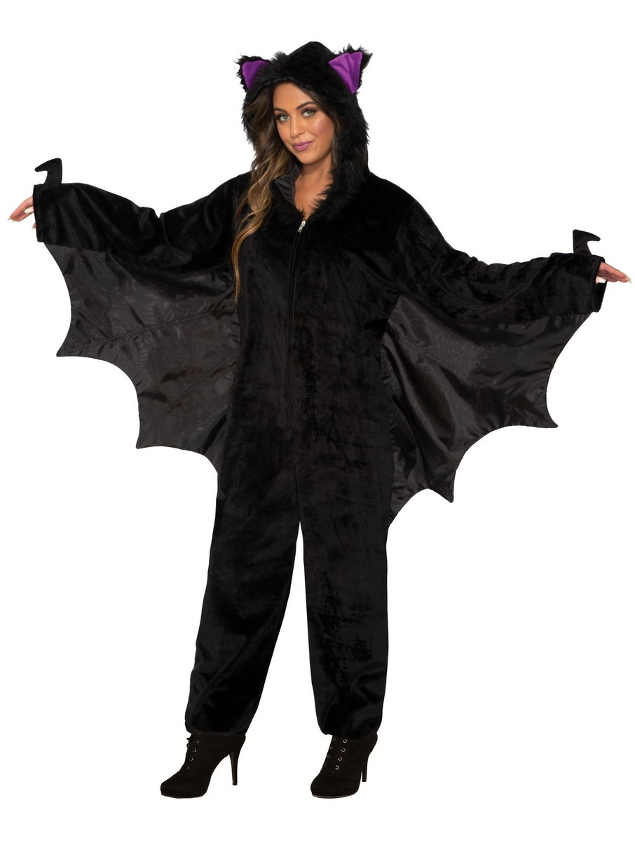View larger image of Bat Jumpsuit Costume for Adult