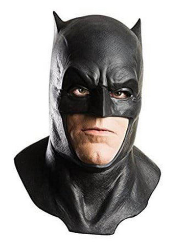 Batman Adult Latex Mask with Cowl