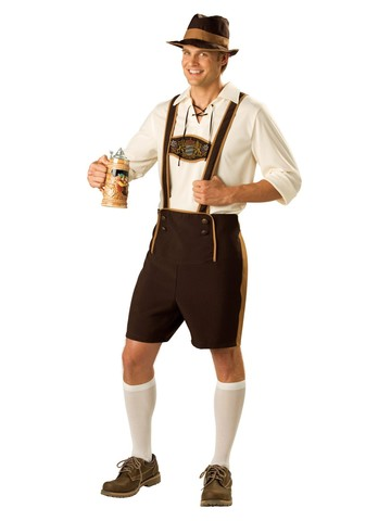 Adult Bavarian Guy Costume