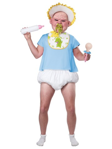 Big Booger Baby Costume for Adult