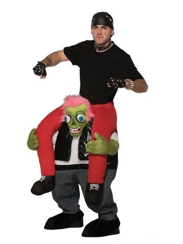 Biker Zombie Ride-On Adult Costume