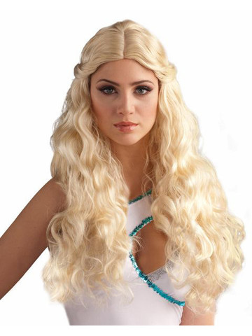 Adult Blonde Goddess Wig