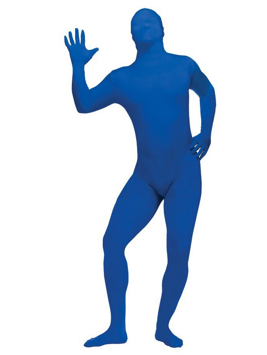 View larger image of Adult Blue Skin Suit Costume
