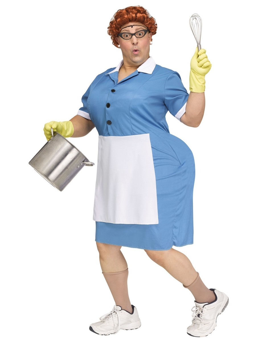 View larger image of Cafeteria Lady Costume for Adults