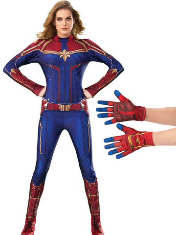 Adult Captain Marvel Costume Kit