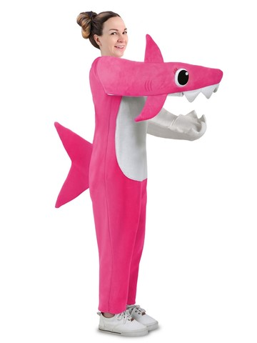 Hilarious Adult Chompin' Mommy Shark Costume with Sound Chip